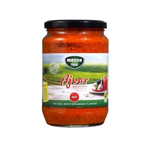 Ajvar 720 ML pittig - Mezzafood