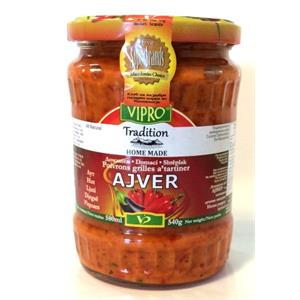 Ajvar 580 ML pittig - Vipro