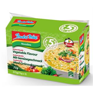 Indo Mie Noodles Vegetable 5 pack