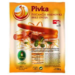 Hot dog kip 200g PIVKA*