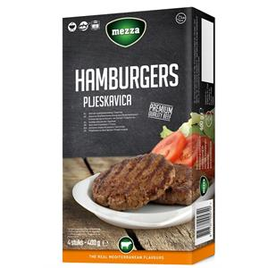Hamburger  400g Mezza